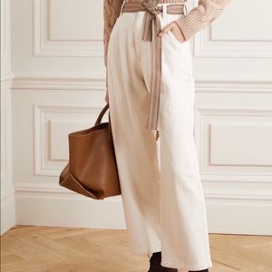 Brunello Cucinelli  Wide Leg Relaxed Jeans